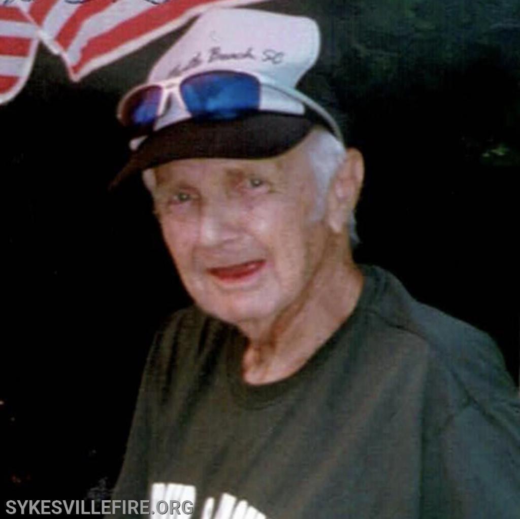 Gene Whiteman, Life Member, SFDFD 1937-2020